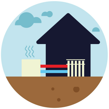pompa di calore: aria - acqua