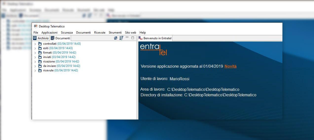 desktop telematico