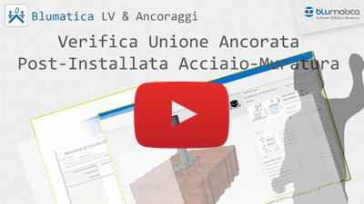 Verifica Unione Ancorata Post-Installata Acciaio-Muratura
