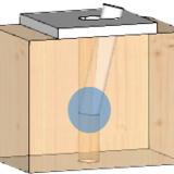 Formazione della cerniera plastica nel connettore
