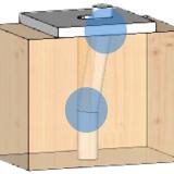 Formazione di doppia cerniera plastica nel connettore